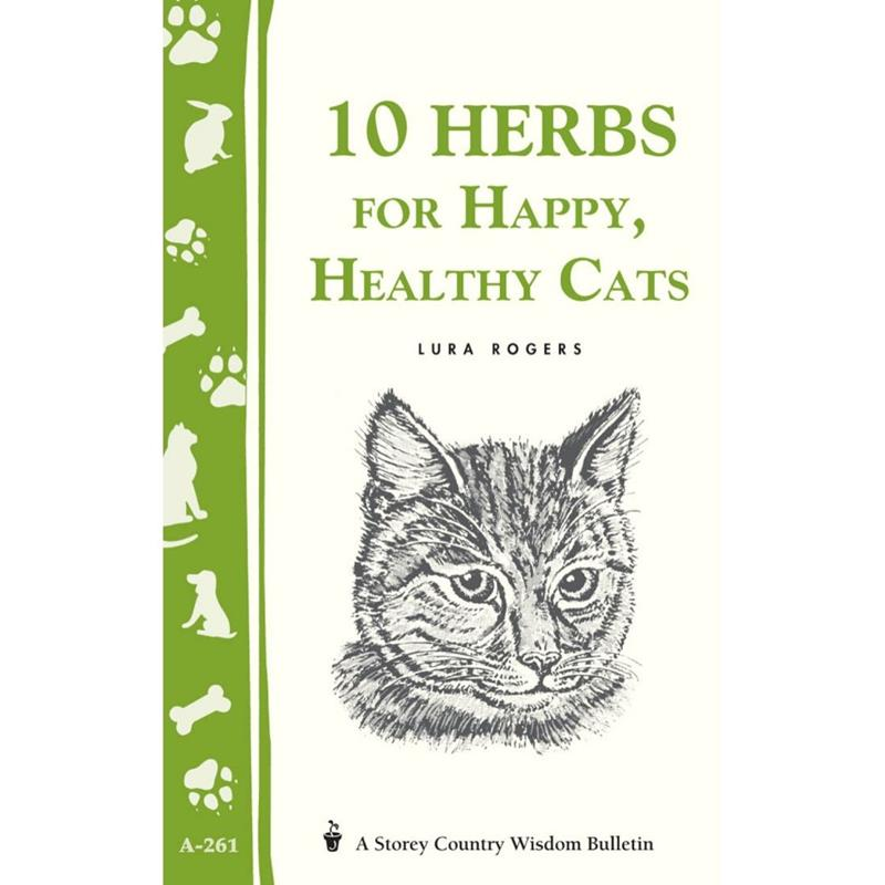 10 Herbs for Happy, Healthy Cats by Lura Rogers,67347