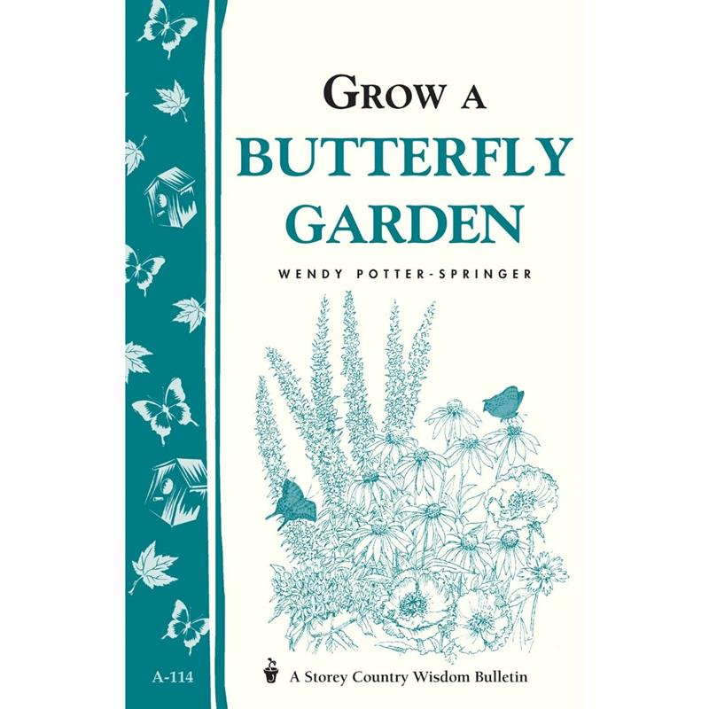 Grow a Butterfly Garden by Wendy Potter-Springer,66600
