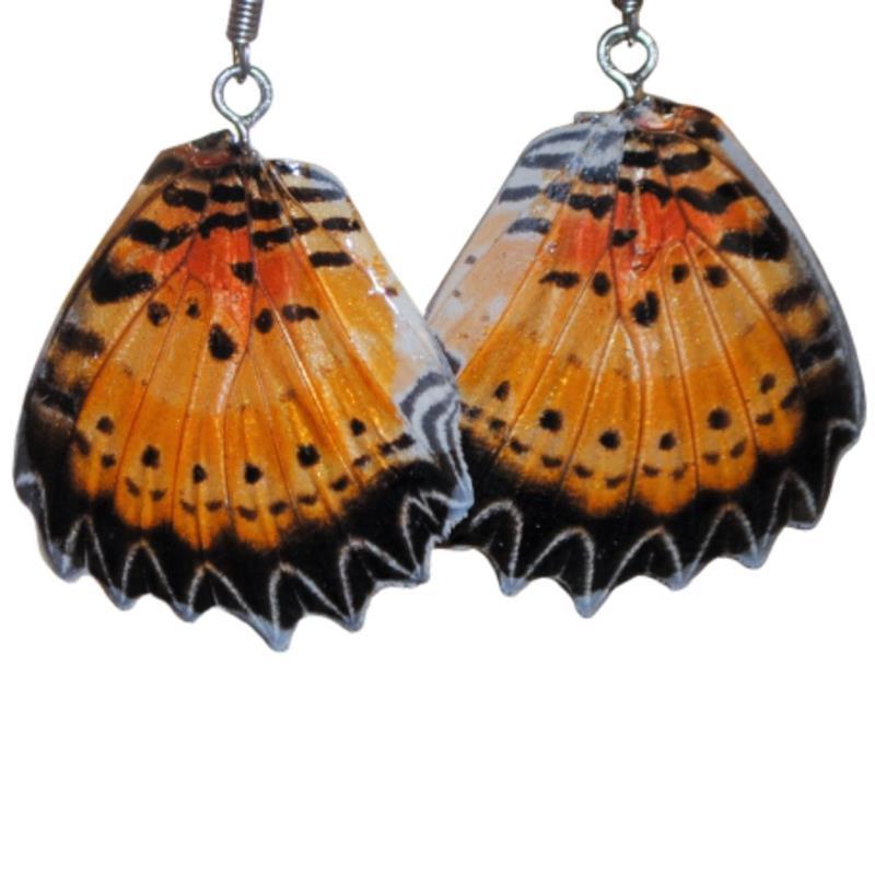 Butterfly Wing Earrings,RESIN