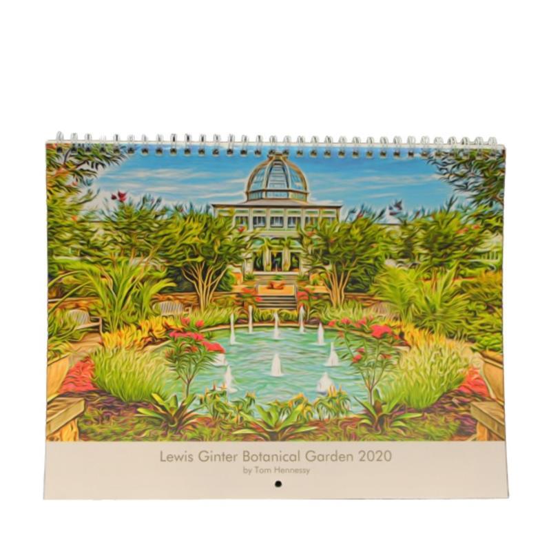 Lewis Ginter 2020 Calendar,2019