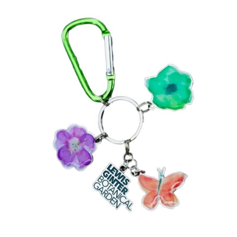 Lewis Ginter Charm Keychain