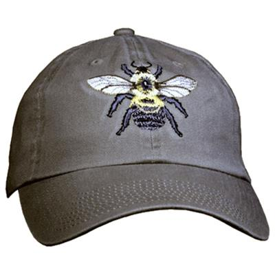 Embroidered Bumble Bee Hat