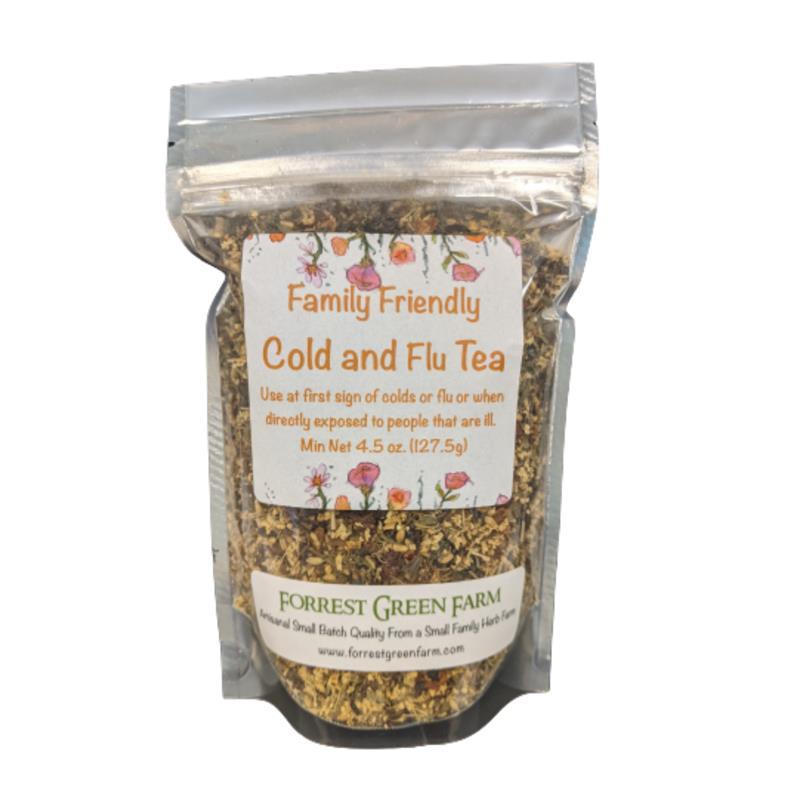 Family Friendly Cold & Flu Tea