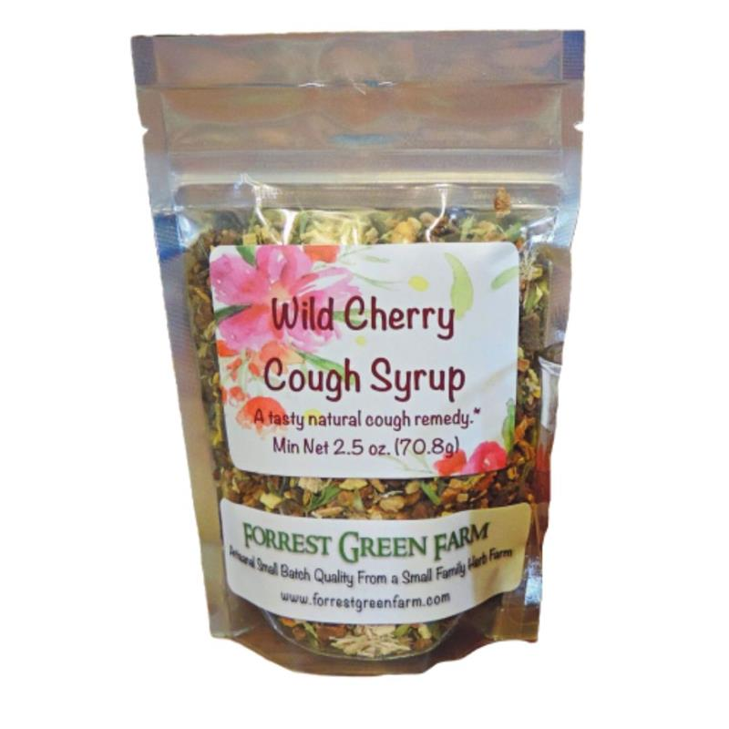 Wild Cherry Cough Syrup Kit
