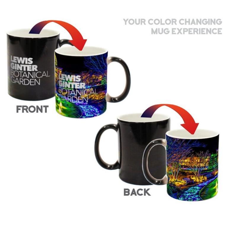 Lewis Ginter Color Changing Mug,ASST
