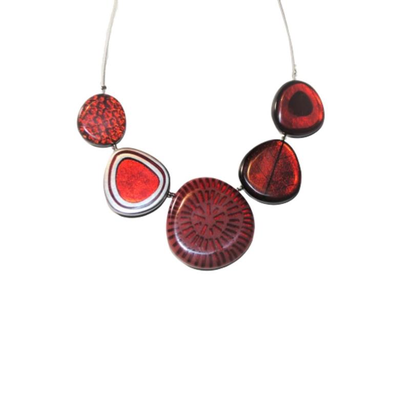 Natural Eclectic Necklace,2378-1