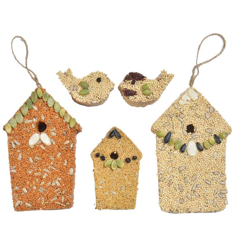 Home Tweet Home Birdseed House Trio,723