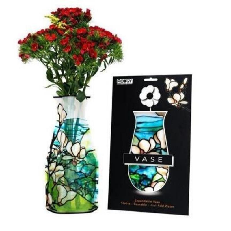 Blue Morpho Butterfly Vase,66185