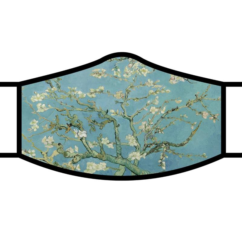"Van Gogh ""Almond Blossom"" Face Mask,MM24"