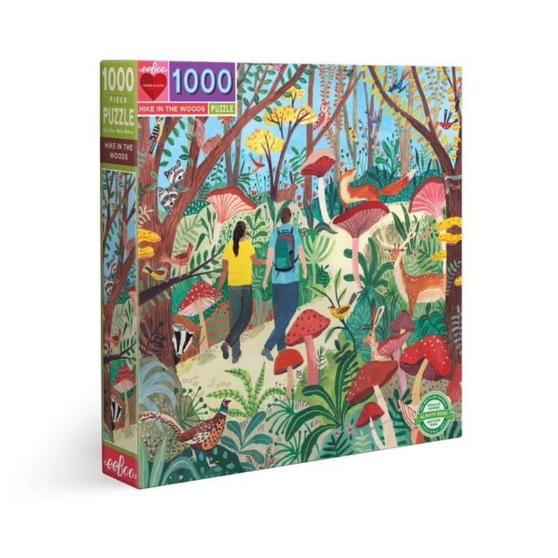 Hike in the Woods 1000 Piece Puzzle,PZTHKW