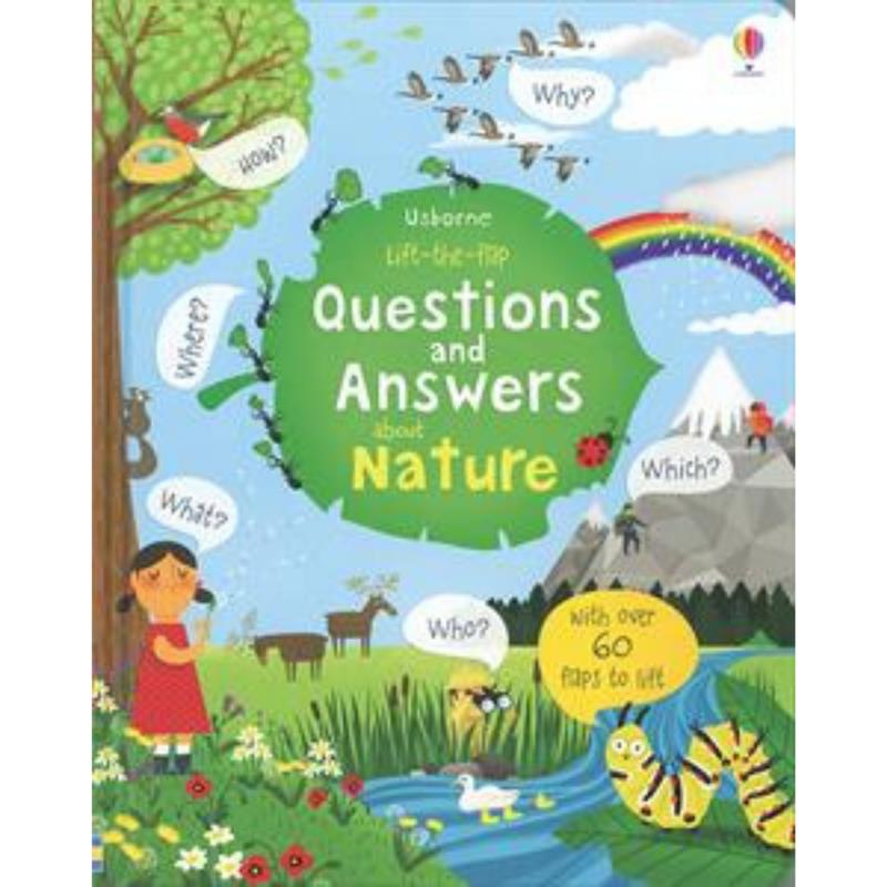 Lift-the-Flap Questions and Answers About Nature,541217