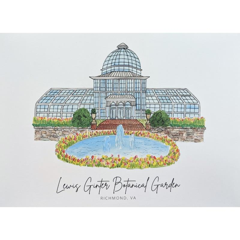 Conservatory Print